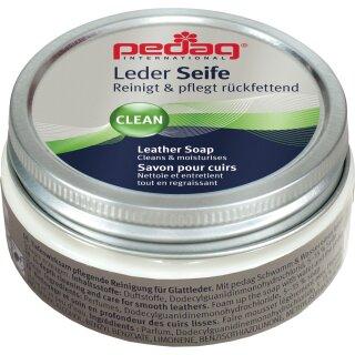 Pedag Lederseife 100 ml zum Reinigen und Pflegen (Farblos)