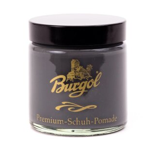 BURGOL Premium Schuh Pomade 100ml GRAU