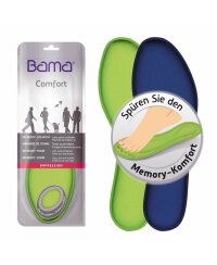 Bama Impression Memory-Schaum Einlegesohle passt sich der...