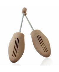 TelMo® Spiralschuhspanner Spitze Form Buchenholz in...