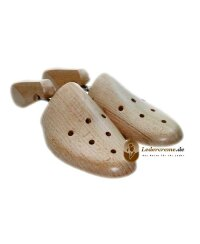 Schuhspanner Schraubspanner Buchenholz für Größen 36-52