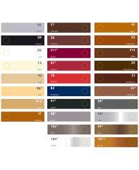 Bama Leder Pflegecreme 50ml Glas für Lederfarbe GRANIT