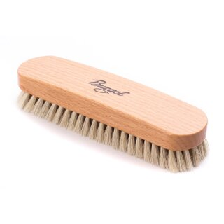 Burgol Rosshaarbürste Polierbürste hell / 15mm Haarlänge