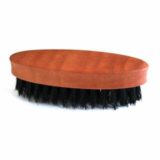 Bartbürste, oval, aus Birnbaumholz 2,8 x 8 cm