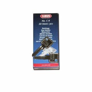 50er P. Schlüsselrohling ABUS CSTR Stahl eckig Standard