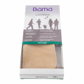 bama Futura Fußbett-Sohle 3/4 Damen und Herren 36
