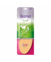 BAMA freshins 6 Paar Sommersohle Einlegesohlen Damen Frischesohlen 35/36