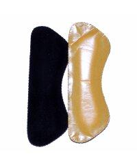 TelMo® Antislip (SCHWARZ) Fersenhalter Fersenpolster...