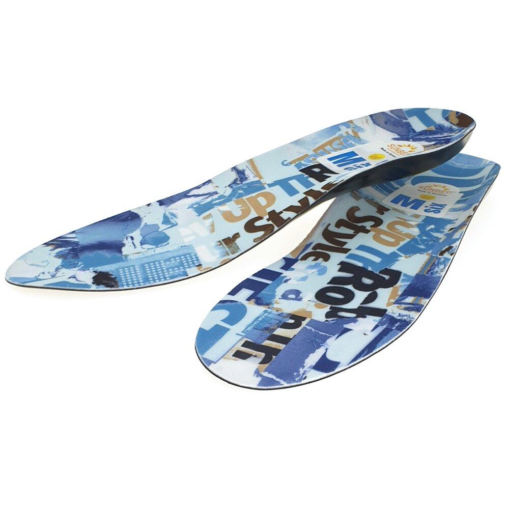 Sunbed Fire Schuheinlagen Einlagen Fußbett für Schuhe Wintersohle