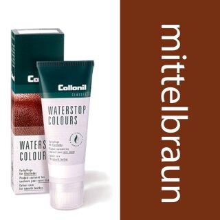 Collonil Waterstop Schuhcreme Glattleder 75 ml Mittelbraun