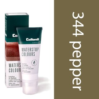 Collonil Waterstop Schuhcreme Glattleder 75 ml Pfeffer-Taupe