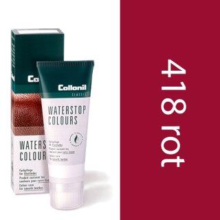 Collonil Waterstop Schuhcreme Glattleder 75 ml Rot