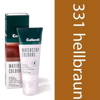 Collonil Waterstop Schuhcreme Glattleder 75 ml Hellbraun