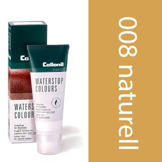 Collonil Waterstop Schuhcreme Glattleder 75 ml Naturelle-Beige