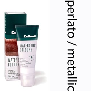 Collonil Waterstop Schuhcreme Glattleder 75 ml Perlato / Metallic
