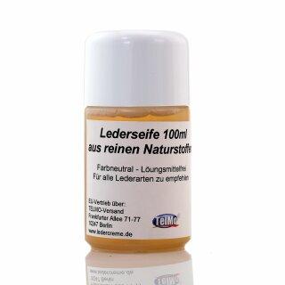 Lederseife 100ml Flasche Lederreinigung