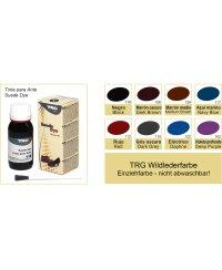 Lederfarbe für Wildleder Nubuk und Kunstwildleder 50ml Schwarz