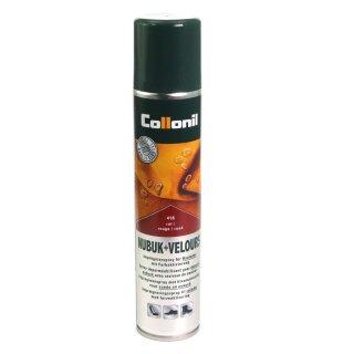 Collonil Wildlederpflege, Imprägnierung und Farbauffrischung 200ml Spray Rot