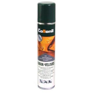 Collonil Wildlederpflege, Imprägnierung und Farbauffrischung 200ml Spray Dunkelgrau