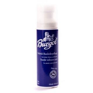 BURGOL Nubuk-Rauhlederpflege Wildleder 100ml Blau