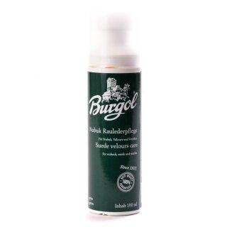 BURGOL Nubuk-Rauhlederpflege Wildleder 100ml Grün