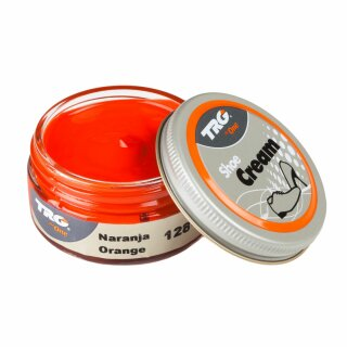 Orange Schuhcreme 50ml auf Wasserbasis