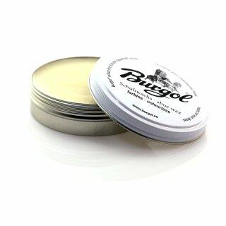 Burgol Schuhwachs - Shoe Wax - Schuhcreme 100ml Farblos