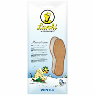 Salamander Winter Kinder Einlegesohle MicroTemp Lurchi 33/34