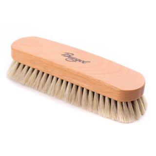 Burgol Rosshaar Staub- und Schmutzbürste, hell, 22 mm Haarlänge, Handeinzug