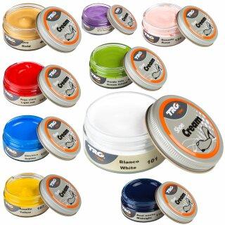 Schuhcreme 50ml Schuhpflegecreme auf Wasserbasis in vielen Farben für Glattleder