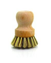 Topfbürste aus unbehandelten Buchenholz