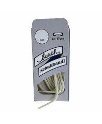 Barth Schnürsenkel Dünn und Rund Schuhbandl Senkel 75cm 007-Hellbeige