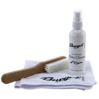 Burgol JUNIOR White Cleaner Set Sneakerspflege und Sneaker Reinigung 100ml